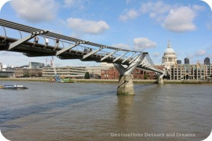 Banside River Walk: Millennium Footbridge
