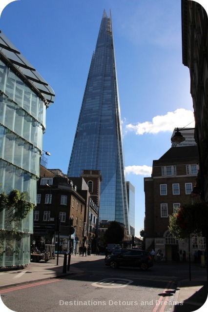 Bankside River Walk: The Shard
