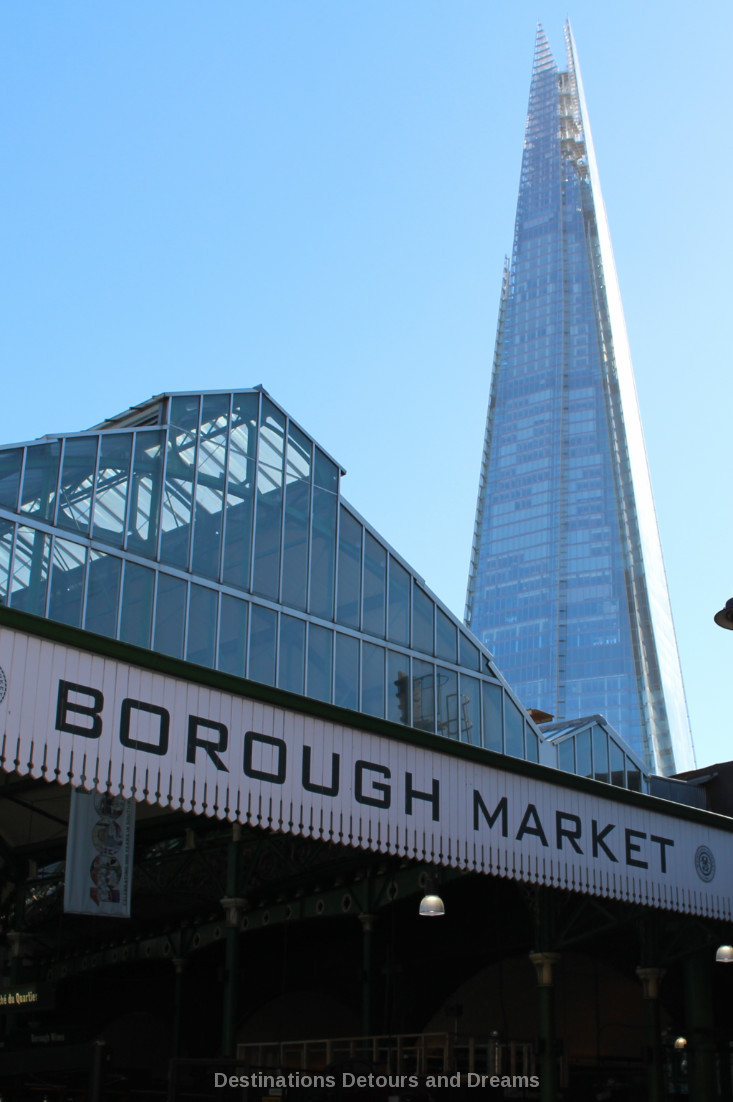 Borough Market in London is a food market steeped in history