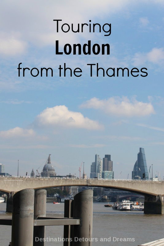Touring London via the Thames Clipper river bus