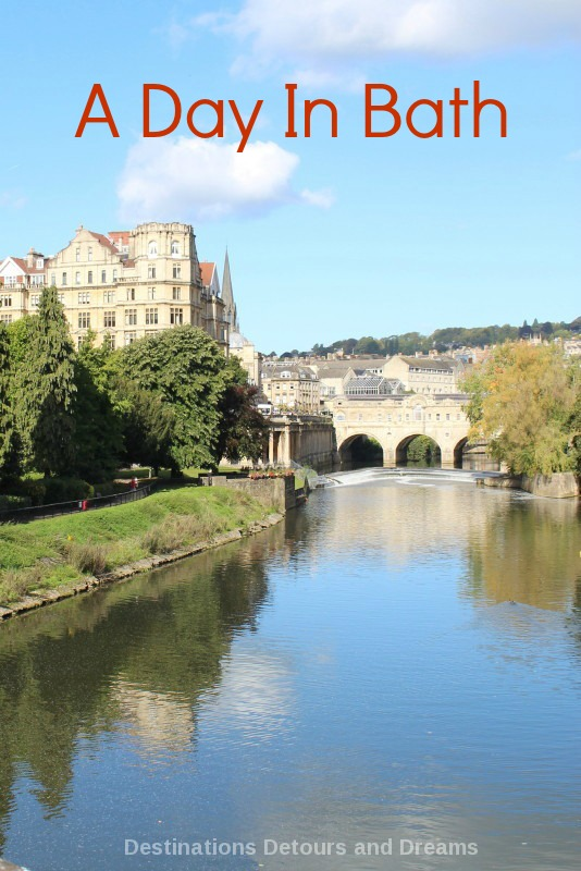 A Day in Bath, Somerset, England. Beyond the Roman baths: Georgian architecture, shopping, dining, parks and more