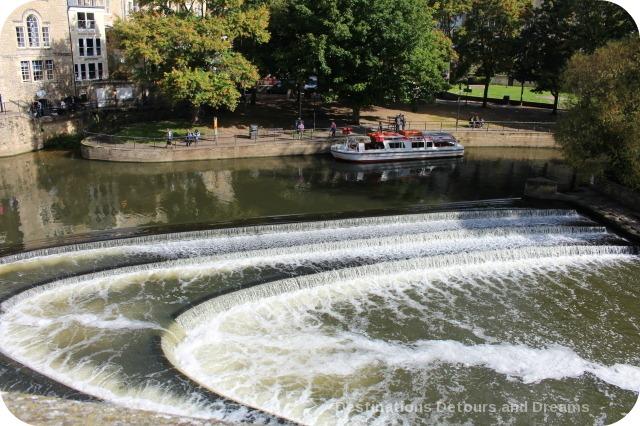 Canal lock, bath, Somerset