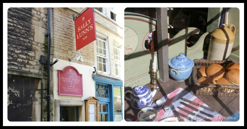 Sally Lunn's, Bath, Somerset