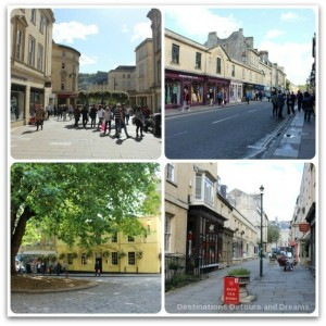 Shopping in Bath, Somerset