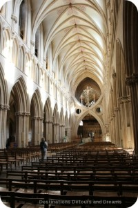 Wells Cathedral and its scissor arches