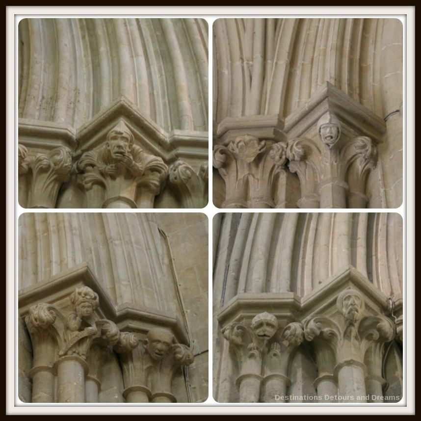 Wells Cathedral gargoyles