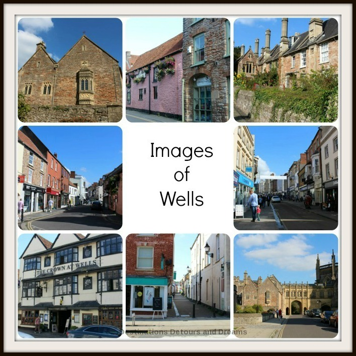 Images of the medieval cathedral city of Wells