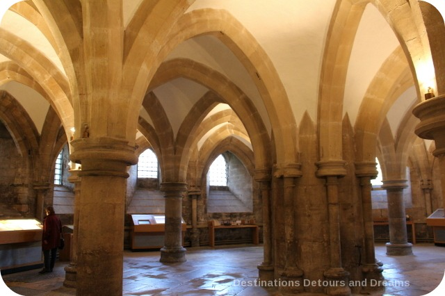 Wells Cathedral Undercroft