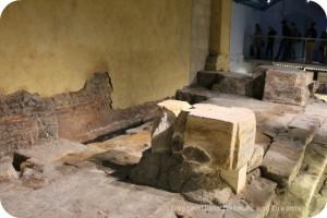 The Roman Bath altar ruins