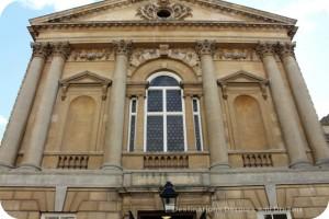Entrance to Roman Baths at Bath