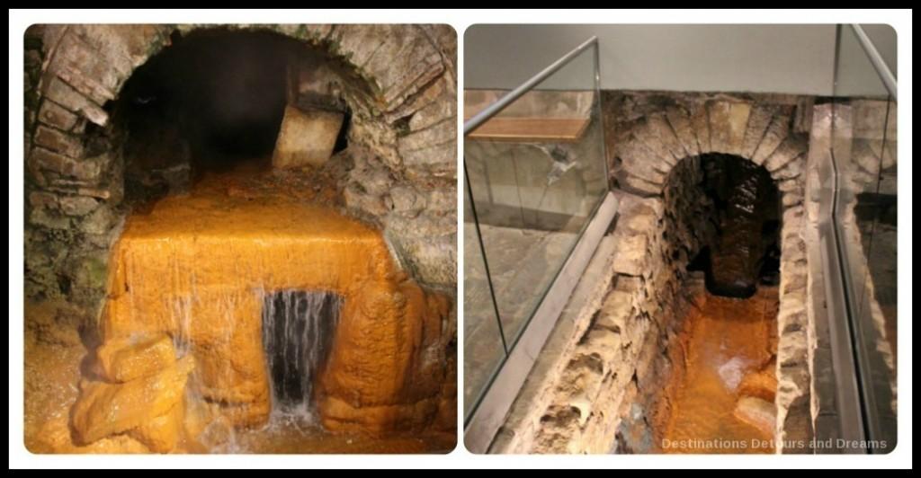 Roman Baths at Bath Spring Overflow and Drain