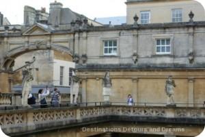 Roman Baths at Bath statues