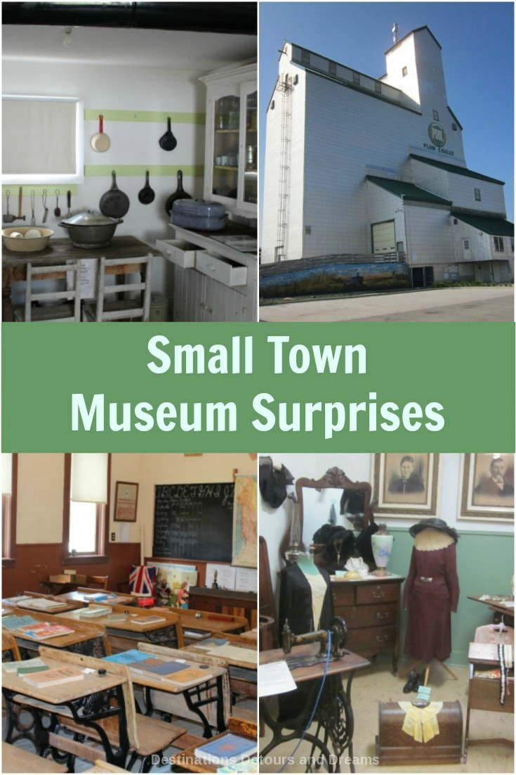 Check out museums in small towns - their treasures may surprise you