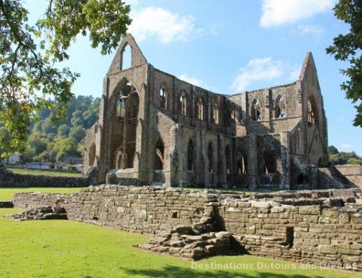 Tintern Abbey in the Wye Valley