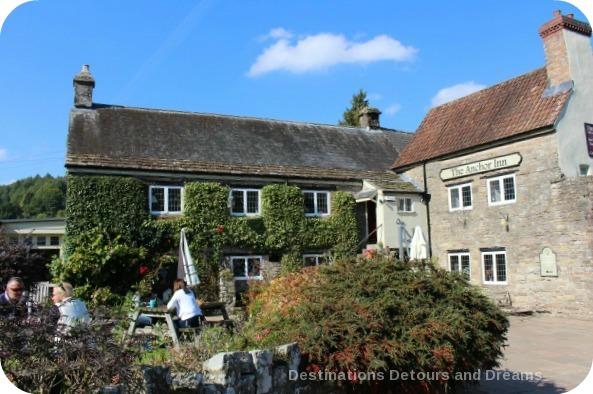 Anchor Inn beside Tintern Abbey, Wales