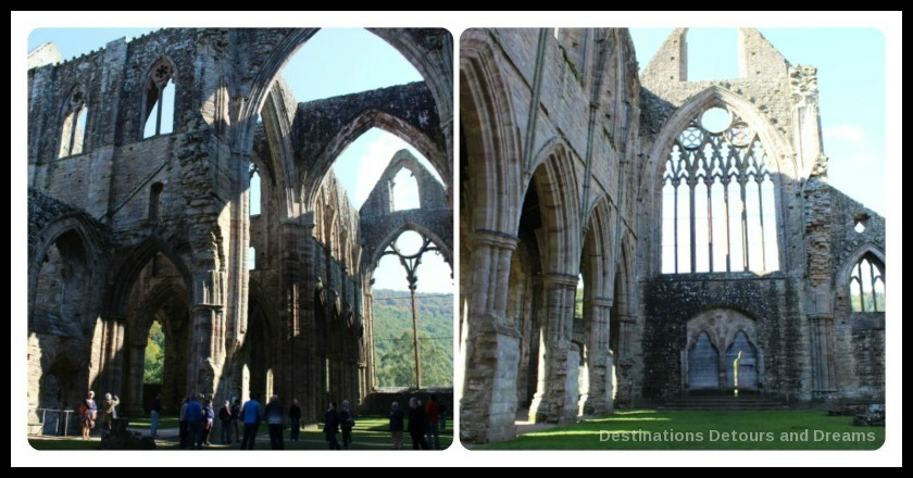 Tintern Abbey church