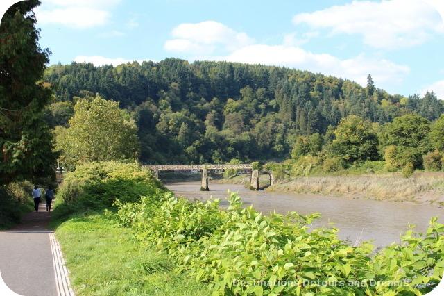 River Wye, Tintern, Wales