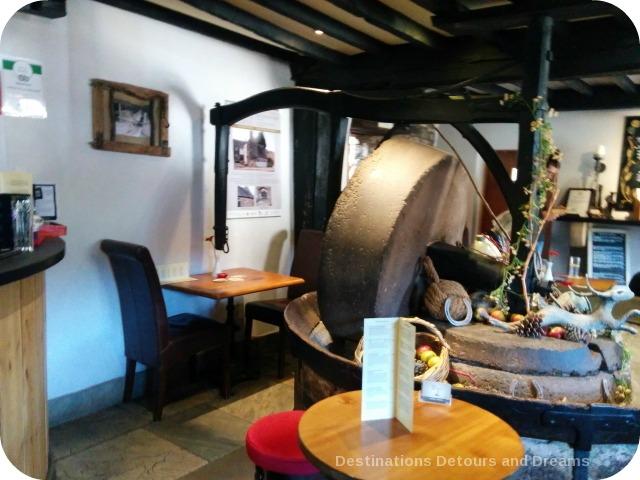 Anchor Inn apple-press wheel, Tintern
