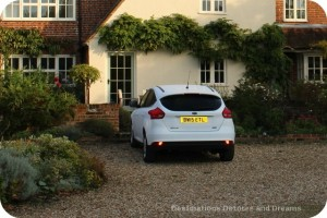 United Kingdom rental car experience