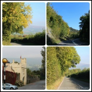 Scenic drives in south Wales