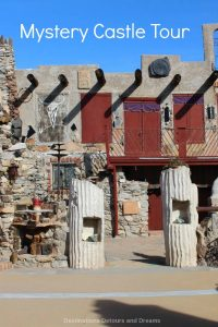 Mystery Castle is a quirky house in south Phoenix built with scavenged materials