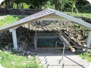 Nevis hot water pool