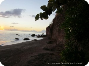 Black Sand Cove, Nevis
