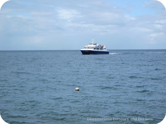 Ferry between St. Kitts and Nevis