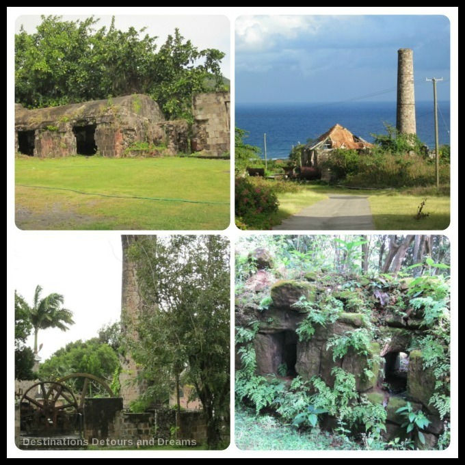 Assorted ruins on Nevis