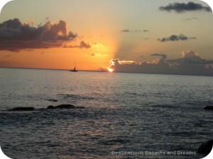 Nevis sunset