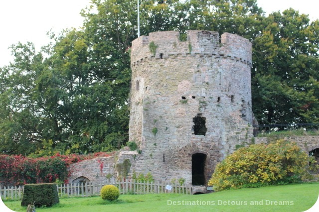 Usk Castle Garrison Tower