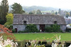 Usk Castle Tithe Barn