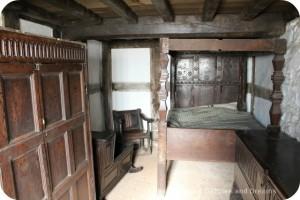 St Fagans National History Museum - Abernodwydd bedroom