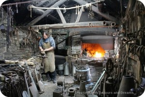 St Fagans National History Museum - blacksmith