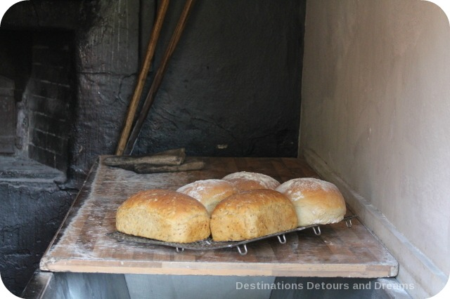 St Fagans National History Museum - baked bread