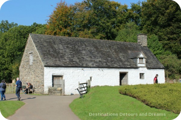 St. Fagans National History Museum - Cliwent House