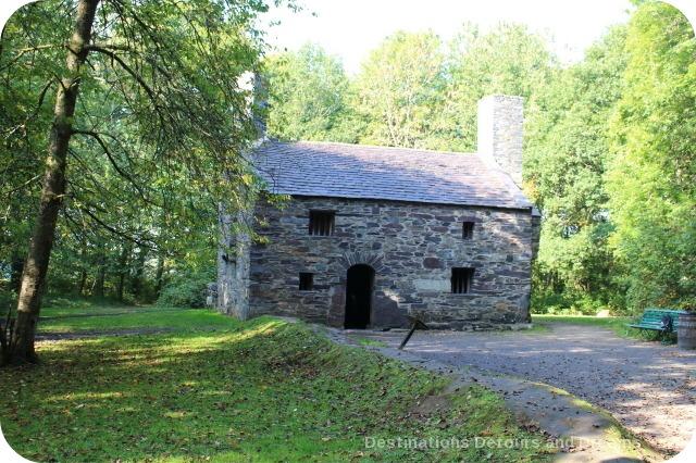 St Fagans National History Museum - Garreg Fawr farmhouse