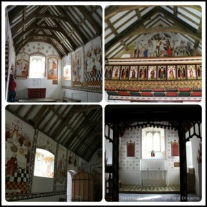 St Fagans National History Museum - inside St. Teilo's