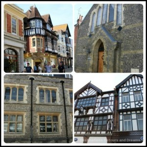 Wandering Through Winchester - historic buildings