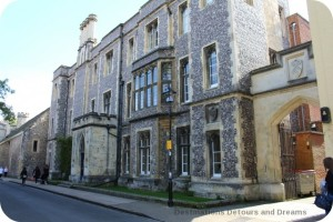Wandering Through Winchester - Winchester College