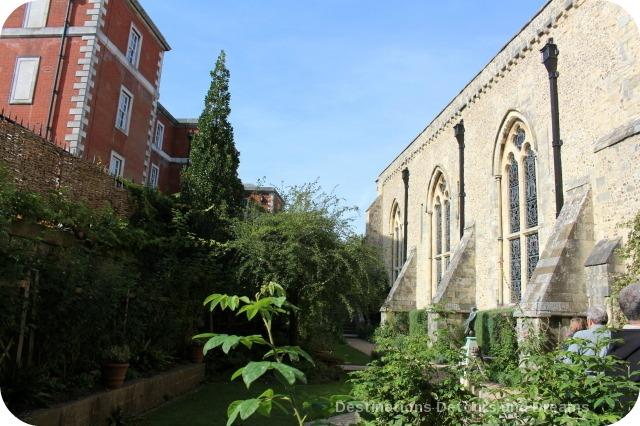 Wandering Through Winchester - Queen Eleanor's Garden