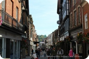 Wandering Through Winchester - High Street