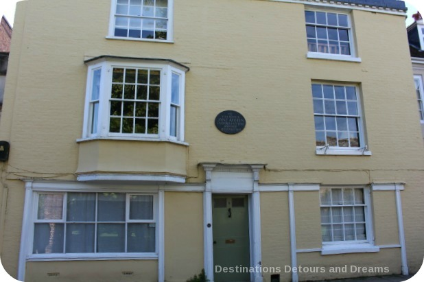 Wandering Through Winchester - Jane Austen's last home