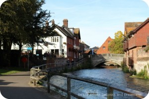 Wandering Through Winchester - river walk
