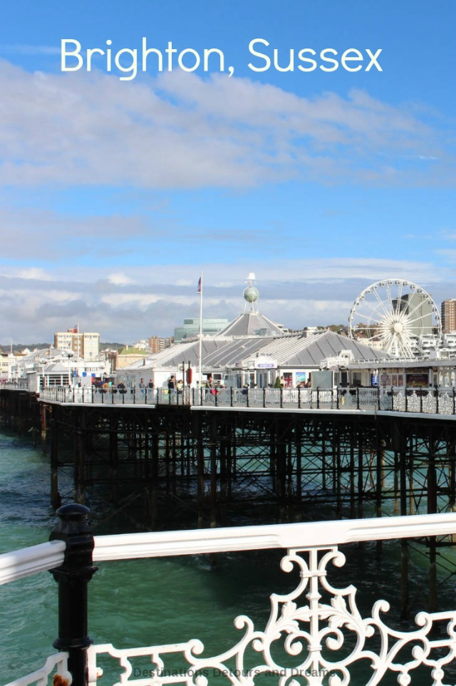 A day visiting the quirky, colourful seaside city of Brighton in Sussex, England