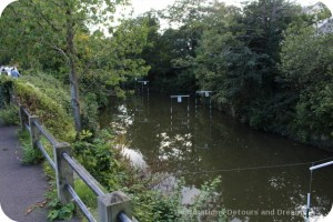 Canoe Club racing lanes, Frome