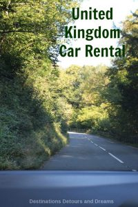 Learn from our experience renting a car in the United Kingdom