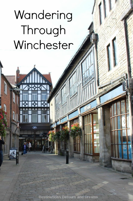 Highlights of the historic, medieval market city of Winchester in Hampshire, England