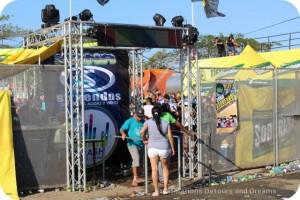 Pedasi Carnaval cabaret area