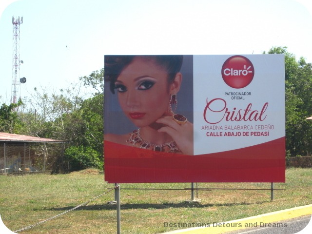 Carnaval billboard